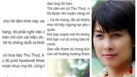 Nhà văn Nguyễn Quỳnh Trang 'tố' Hoa hậu Thu Thủy 'cướp chồng'