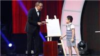 Tập 13 'Mặt trời bé con': MC Lại Văn Sâm được 'thầy giáo' vẽ bằng 2 tay cho điểm 10 vì sự cố gắng