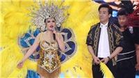 VIDEO: Việt Hương diện váy ngắn nhảy samba cùng 9 thí sinh 'ngàn cân'