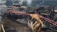 7.000 lính cứu hỏa Mỹ vật lộn với cháy rừng lịch sử bang California
