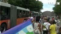 VIDEO: Hàng ngàn người diễu hành chống kỳ thị người đồng tính