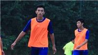 Tiến Dụng chấn thương, 'sao' trẻ Hà Nội FC được cân nhắc thay thế ở U20 Việt Nam