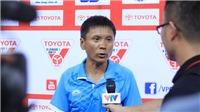 HLV Võ Đình Tân tố trọng tài thiên vị Hà Nội FC