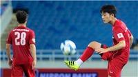 Xuân Trường ghi bàn, Tuấn Mạnh cứu thua xuất thần trong buổi tập của tuyển Việt Nam