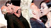 'Bond Girl' Monica Bellucci gây sốc với màn 'cưỡng hôn' ở Cannes