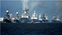Hàng trăm tàu quân sự Nga phô diễn sức mạnh trong Ngày Hải quân