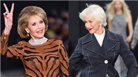VIDEO: U80 Helen Mirren và Jane Fonda khiến Paris 'dậy sóng'