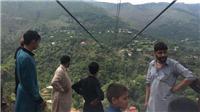 Đứt cáp treo ở Pakistan, 12 người văng xuống hẻm núi