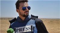 Một phóng viên chiến trường của Nga vừa tử nạn do trúng tên lửa của IS