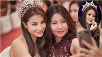 Hoa hậu Hoàn vũ Việt Nam 2017: Phạm Hương rơm rớm khi gặp mẹ