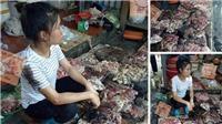 Khởi tố vụ án, công an Hải Phòng truy bắt kẻ hất luyn, chất thải vào quầy thịt lợn