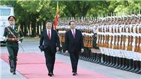 Lễ đón chính thức Chủ tịch nước Trần Đại Quang thăm cấp Nhà nước tới CHND Trung Hoa