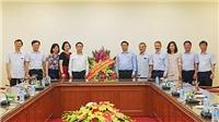 Trưởng Ban Tổ chức TƯ Phạm Minh Chính thăm, chúc mừng Thông tấn xã Việt Nam