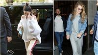 Ngắm siêu mẫu Kendall Jenner, Bella Hadid sành điệu với thời trang sân bay