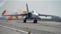 Máy bay chiến đấu Su-24 Nga rơi tại Syria, phi hành đoàn tử nạn