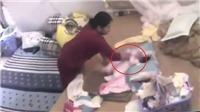 Bắt khẩn cấp người giúp việc bạo hành bé gái sơ sinh hơn 1 tháng tuổi