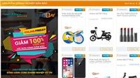 Online Friday 2017: Mua iPhone X giá 4,9 triệu, xe đạp điện giá 0 đồng, điều hòa giá 999.000 đồng