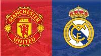 TRỰC TIẾP Real Madrid 0-0 Man United: Bale đá chính, Ronaldo dự bị (Hiệp 1)
