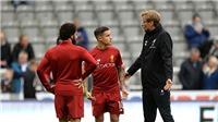 Video clip highlights bàn thắng trận Newcastle 1-1 Liverpool