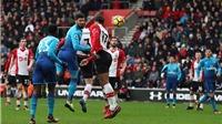 Video clip highlights bàn thắng trận Southampton 1-1 Arsenal