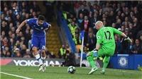 Chelsea ghi cả 3 bàn trước Middlesbrough đều theo kiểu... xâu kim thủ môn Guzan
