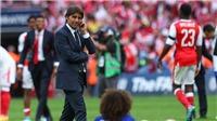 Thất bại ở FA Cup đưa Conte trở về thực tại