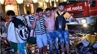 NÓNG: Nhiều CĐV Juventus đổ máu vì vụ nổ 'bất thường' ở Turin
