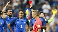 Varane bị đuổi vì công nghệ VAR, Pháp vẫn thắng Anh đầy kịch tính