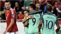 Video clip highlights bàn thắng trận Hungary 0-1 Bồ Đào Nha