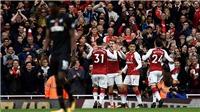 Video clip highlights bàn thắng trận Arsenal 2-1 Swansea