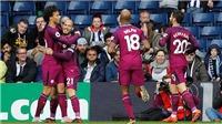Video clip highlights bàn thắng trận West Brom 2-3 Man City