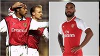 Huyền thoại Arsenal: 'Lacazette sẽ thắp sáng Emirates như Henry và Bergkamp'