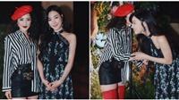 Chi Pu diện style 'độc lạ' đọ đáng cùng Tiffany tại Mỹ