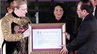 Đón bằng của UNESCO vinh danh đờn ca tài tử