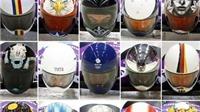 Độc đáo mũ bảo hiểm nghệ thuật ở Olympic Sochi