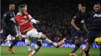 Arsenal hòa 0-0 Man United, lỡ cơ hội lấy lại ngôi đầu