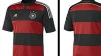 Adidas tiết lộ mẫu áo đấu mới của ĐT Đức