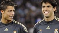 Kaka: 'Ronaldo là cầu thủ xuất sắc nhất mà tôi từng thi đấu cùng'