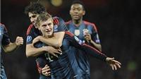 GÓC CHIẾN THUẬT: Bayern đã đưa Arsenal vào ma trận chuyền bóng