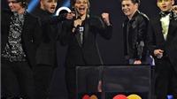 Brit Awards 2014 có lượng người xem trực tiếp thấp kỷ lục