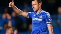 Tiểu xảo của Terry giúp Chelsea tránh khỏi một bàn thua