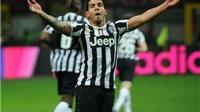 Chấm điểm Milan 0 -2 Juventus: Số 1 là Tevez