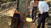 Cầu treo Chu Va 6 được ốp gạch, trát vữa