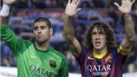 Carles Puyol: Nhân chứng vĩ đại của thời kỳ vĩ đại
