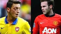Oezil, Juan Mata và 5 ngôi sao ở Premier League có thể vắng mặt ở World Cup