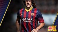 5 khoảnh khắc đặc biệt trong sự nghiệp của Carles Puyol