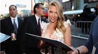 Scarlett Johansson quyến rũ tại lễ công chiếu 'Captain America: The Winter Soldier'
