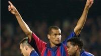 Rivaldo giải nghệ ở tuổi 41: Những tuyệt tác ngả bàn đèn và solo từ giữa sân