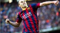 Andres Iniesta: Nhân cách lớn đằng sau một ngôi sao