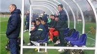 Đối đầu Wolverhampton, U19 Việt Nam tiếp tục khó khăn